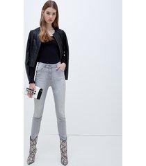 motivi jeans skinny modello gisele stampa stelle donna grigio