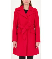 kate spade new york belted wrap coat, created for macy's