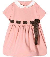 fendi pink dress