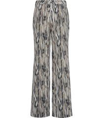 broek pasvorm cornelia met print van peter hahn multicolour