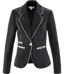 blazer elasticizzato (nero) - bpc selection