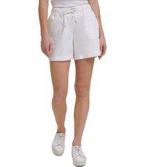 calvin klein jeans drawstring shorts