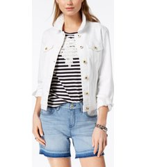 tommy hilfiger cotton denim jacket, created for macy's