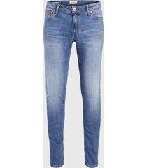 jeans jack & jones skinny azul - calce ajustado