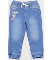 jeans azul jogger denim beba corona