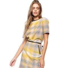 blusa amarilla tommy hilfiger scarlet picnic top