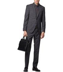 boss men's genius5 slim-fit trousers