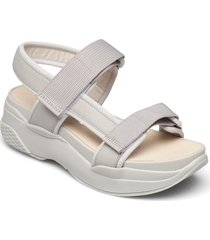 lori shoes summer shoes flat sandals grå vagabond