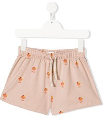 tiny cottons ice cream print shorts - pink