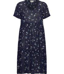 kaesta amber dress korte jurk blauw kaffe