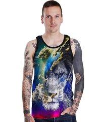 regata lucinoze camisetas lion space preta