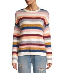 tira multi-stripe wool sweater