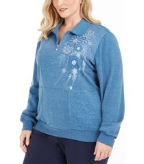 alfred dunner all about ease top