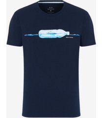 ax armani exchange men's waterbottle pima t-shirt