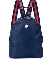 mochila azul merope indiana shine