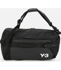 y-3 men's hybrid duffle bag - black