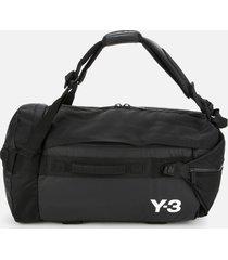 y-3 men's hybrid duffle bag - black