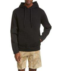 men's 1017 alyx 9sm twisted contrast sleeve hoodie