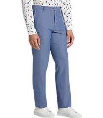 paisley & gray slim fit suit separates pants blue seersucker stripe