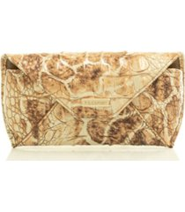 brahmin melbourne embossed leather eyeglass case