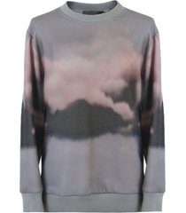 alberta ferretti sweatshirt with print