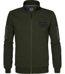 petrol industries m-1010-swc320 sweater collar 6093 dark army -