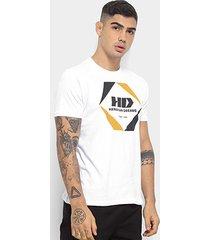 camiseta hd geometric masculina