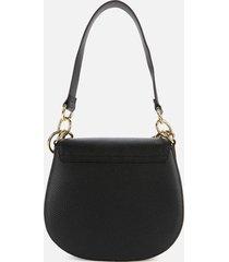 ted baker women's amali branded webbing strap xbody bag - jet-black