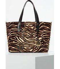 skórzana torebka typu shopper model eve luxe