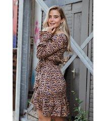 femme9 jurk multicolor elsa