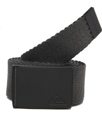 cinturón gris-negro doble faz  quiksilver thejams
