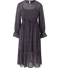 klänning pcmisty ls midi dress