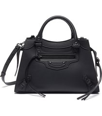 'neo classic city small' leather shoulder bag