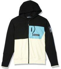 men's outdoor archive mixed media full zip hoodie
