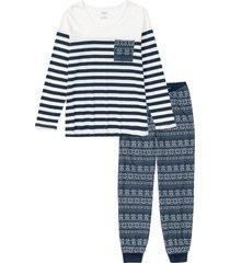 pigiama con maglia ampia (blu) - bpc bonprix collection