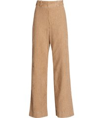 baum und pferdgarten norissa corduroy flared trousers
