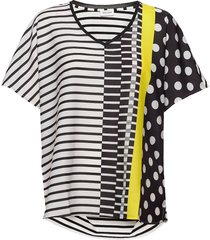 t-shirt short-sleeve t-shirts & tops short-sleeved multi/mönstrad gerry weber