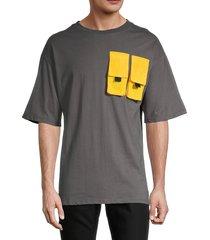 american stitch men's pocket short-sleeve t-shirt - white - size l