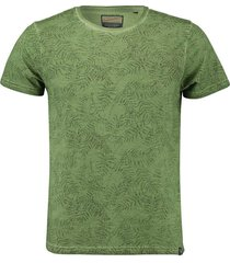 t-shirt leger groen