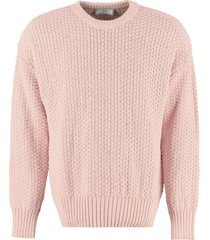 ami alexandre mattiussi long-sleeved crew-neck sweater