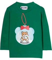 moschino shirt teddy snow globe