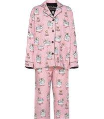 pyjama long pyjamas rosa pj salvage