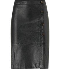 skinnkjol vielfi hw leather skirt