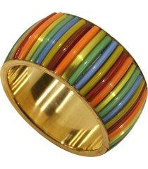porta guardanapo- pashmina- ceramica- dourado