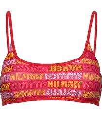 bralette bikinitop rosa tommy hilfiger