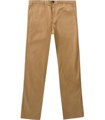 paul smith tapered fit trousers   camel   933p319ec tap