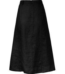 rok van 100% linnen van peter hahn zwart