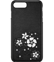 custodia smartphone con bordi protettivi integrati mazy, iphoneâ® 8 plus, nero