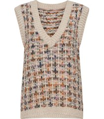 nubatel vest vests knitted vests multi/patroon nümph