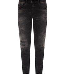 'd-strukt' distressed jeans